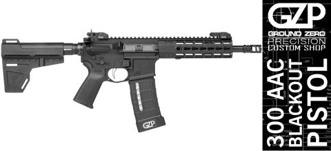GZP Custom Shop 300 AAC Blackout Pistol