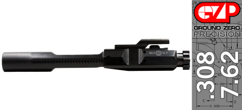 Dead Bolt 308 Premium AR .308 / 7.62 Bolt Carrier Group - QPQ Nitride