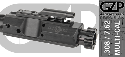 Dead Bolt .308 / 7.62 Bolt Carrier Group - QPQ Nitride Finish