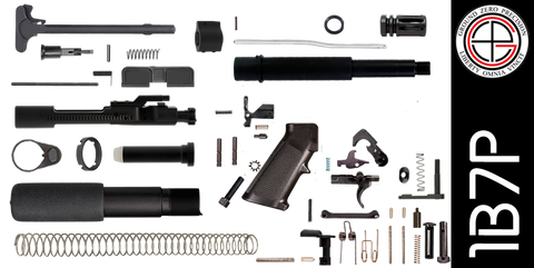"DIY 7.5"" 300 Blackout AR-15 Pistol Project Kit (1B7P) Without Upper"