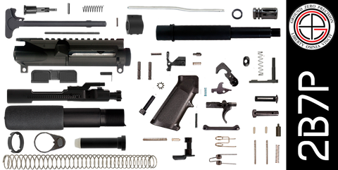 "DIY 7.5"" 300 Blackout AR-15 Pistol Project Kit (2B7P) - FREE SHIPPING"