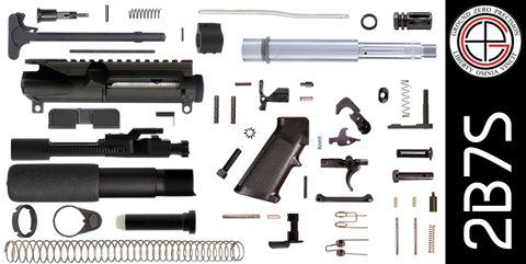 "DIY 7.5"" Stainless 300 Blackout AR-15 Pistol Project Kit (2B7S) - FREE SHIPPING"