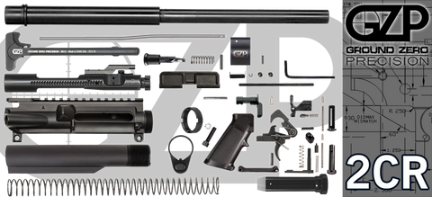 "16"" .223 / 5.56 Wylde Carbine AR-15 Project Kit (2CR) - Crowned Barrel"