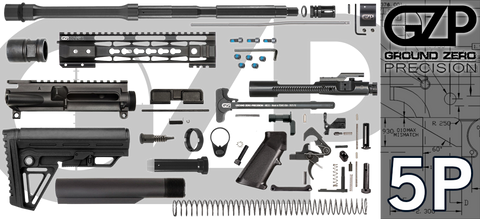"16"" .223 / 5.56 Wylde Carbine AR-15 Project Kit W/ 10"" Tac-Hunter Keymod Handguard (5P)"
