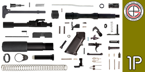"DIY 7.5"" .223 / 5.56 AR-15 Pistol Project Kit (1P) Without Upper"