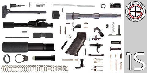 "DIY 7.5"" Stainless .223 / 5.56 AR-15 Pistol Project Kit (1S) Without Upper"