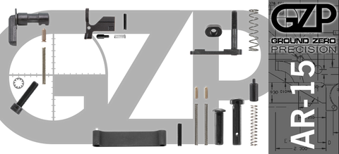 Mil-Spec AR-15 Lower Parts Kit (GZMS15LPK-1)