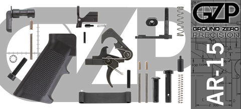 Mil-Spec AR-15 Lower Parts Kit (GZMS15LPK-3)
