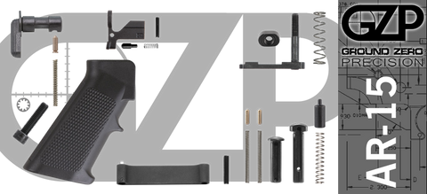 Mil-Spec AR-15 Lower Parts Kit (GZMS15LPK-2)