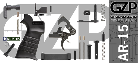 Mil-Spec AR-15 Lower Parts Kit (GZMS15LPK-4)