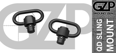 Quick Disconnect (QD) Sling Swivel - Set of 2