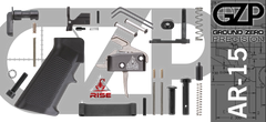 AR 15 Lower Parts Kit with Rise Armament RA-434 HPT Trigger
