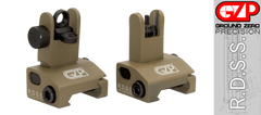 R.D.S.S Pop-up AR 15 Sight Set FDE