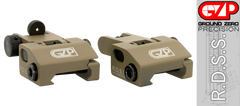 Rifle Pop Up Sights FDE