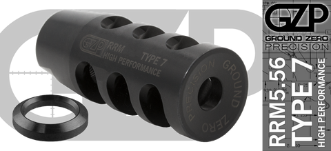 RRM5.56 Type 7 High Performance Brake - 1/2 x 28