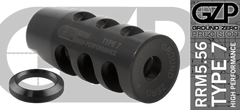 RRM5 High Performance 5.56 Muzzle Brake