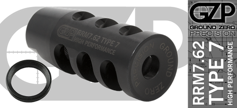 RRM7.62 Type 7 High Performance Brake - 5/8 x 24