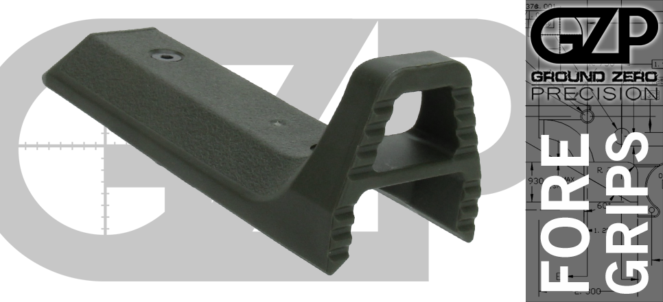 Sphinx AR foregrip and hand stop OD Green