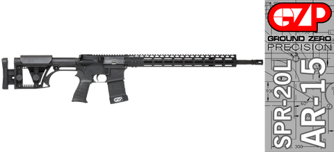 Ground Zero Precision Special Purpose Rifle SPR-20L (M-Lok)