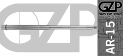 "18"" 416R Stainless Match Grade AR15 Barrel Straight Fluted"