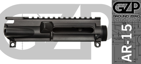 Ground Zero Precision Stripped AR-15 Upper Receiver