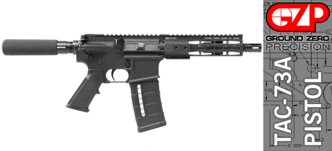 Ground Zero Precision Tactical and Sporting Pistol TAC-73A (300 AAC Blackout)