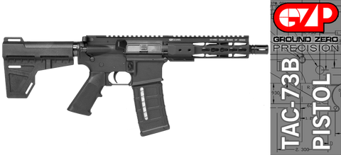 Ground Zero Precision Tactical and Sporting Pistol TAC-73B (300 AAC Blackout)