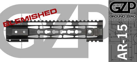 "10"" TAC-HUNTER Gen 2 Mod 1 KEYMOD Free-Float AR-15 Hand Guard - BLEMISHED"