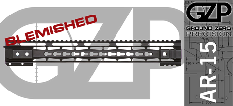 "15"" TAC-HUNTER Gen 2 Mod 1 Keymod Free-Float AR-15 Hand Guard - BLEMISHED"
