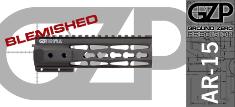 "7"" TAC-HUNTER Gen 2 Mod 1 KEYMOD Free-Float AR-15 Hand Guard - BLEMISHED"