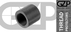 Knurled Barrel Thread Protector 1/2 X 28 Black