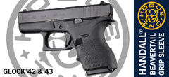 Hogue Handall Glock 42 43 Grip Sleeve Black