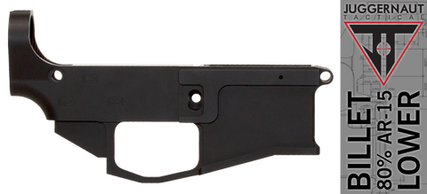 Juggernaut Tactical JT-15 Billet 80% AR-15 Lower Receiver - BLEMISHED