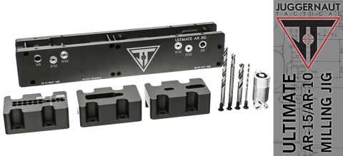 Juggernaut Tactical Ultimate 80% AR-15 / AR-10 Milling Jig