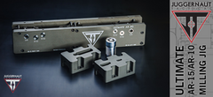 Juggernaut Tactical Ultimate 80% AR 10 milling jig