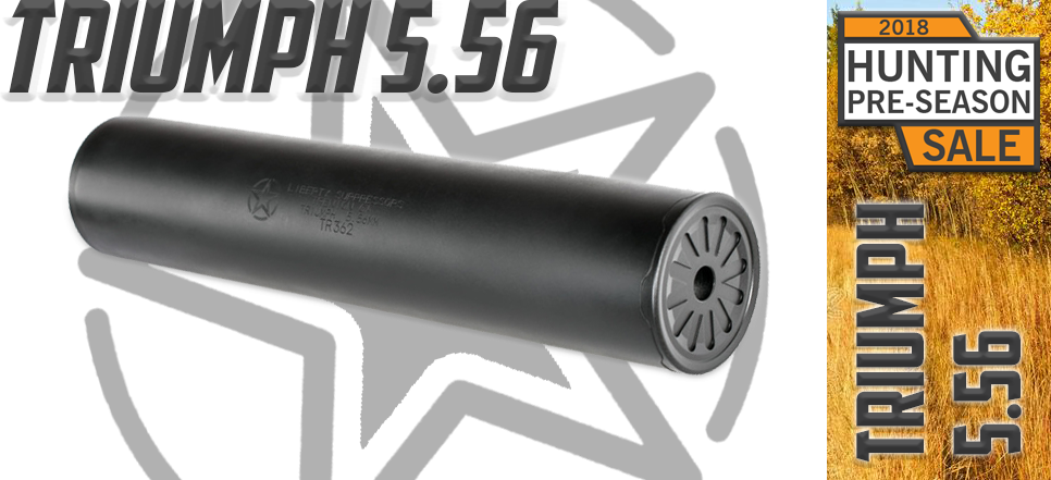 Liberty Suppressors Triumph 5.56 Hunting Season 2018