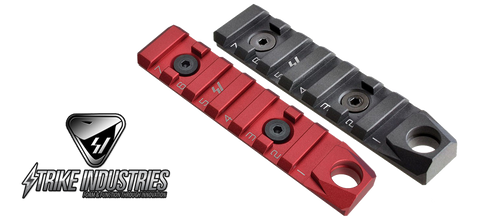 Strike Industries KEYMOD & M-LOK Link Rail Section 7 Slots with QD Attachment Feature