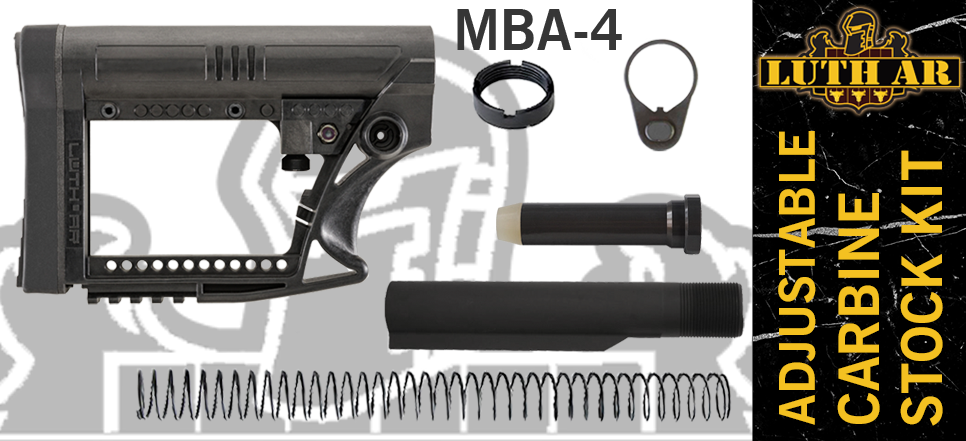 Luth-AR MBA-4 Kit - Black