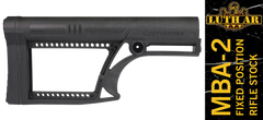 Luth-AR MBA-2 Rifle Stock Black