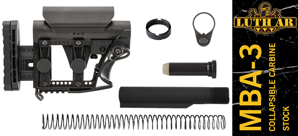 Luth-AR MBA-3 Stock Kit for AR-10 .308