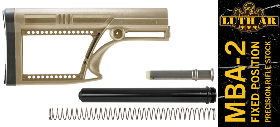 Luth-AR MBA-2 AR-10 Stock Kit FDE