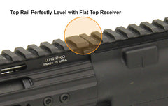 "13"" UTG PRO Super Slim Free Float Rail for DPMS High Profile AR .308 Upper Receivers"