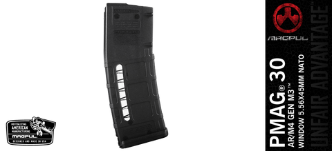 Magpul PMAG® 30 AR/M4 GEN M3™ WINDOW 5.56X45MM NATO