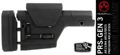 PRS Gen 3 Precision Rifle Stock - Black