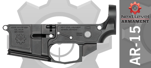 Next Level Armament NLX-15 Billet AR15 Stripped Lower Receiver
