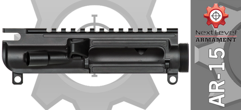 Next Level Armament Billet Fifteen Stripped AR-15 Upper Receiver