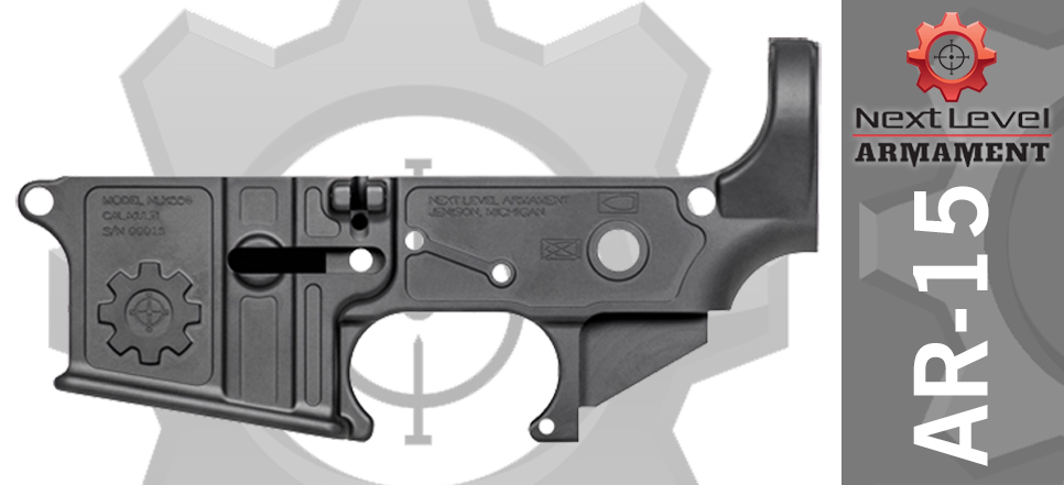 Next Level Armament Elite AR15 Lower Receiver