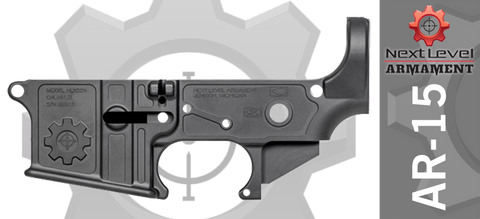 Next Level Armament Elite Series AR15 Stripped Lower Receiver