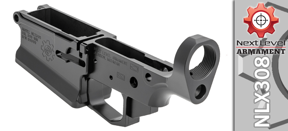 Next Level Armament Stripped Billet 308 Lower Receiver