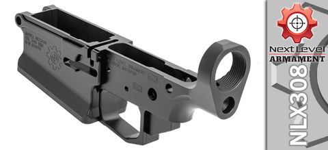 Next Level Armament NLX308 Stripped Billet AR .308 Lower Receiver